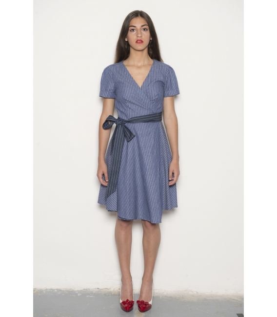 Robe Victoria Denim - Collection Wall Street