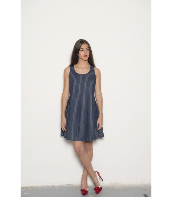 Robe Rosie Denim - Collection Wall Street