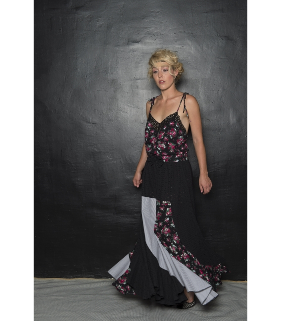 Robe Esperenza Flores - Collection Flamenco