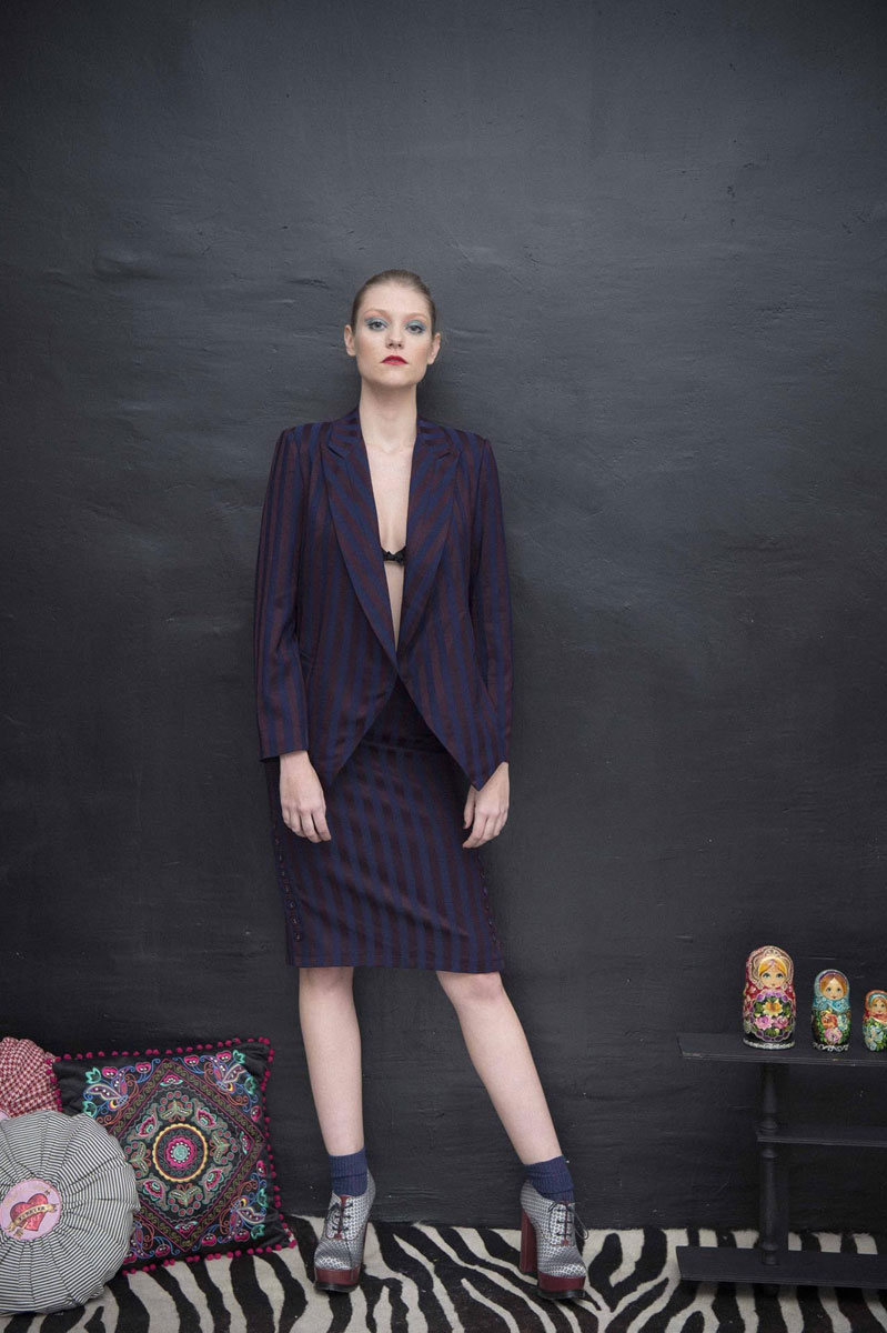 Jupe Michelle Indigo - Collection Classicos