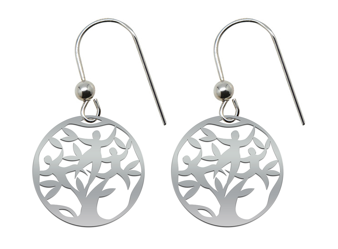 Boucles d'oreilles TREE OF LIFE