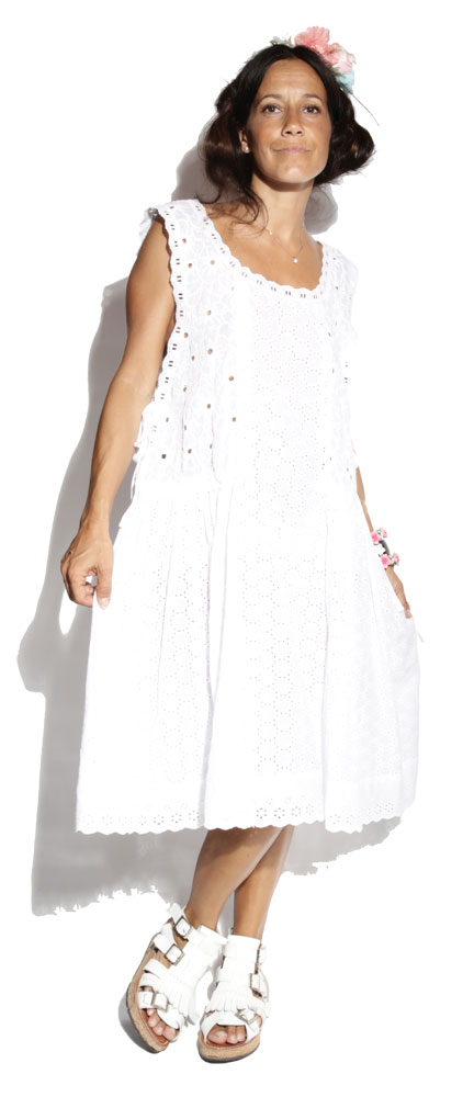 Robe San Angelo White - Texane