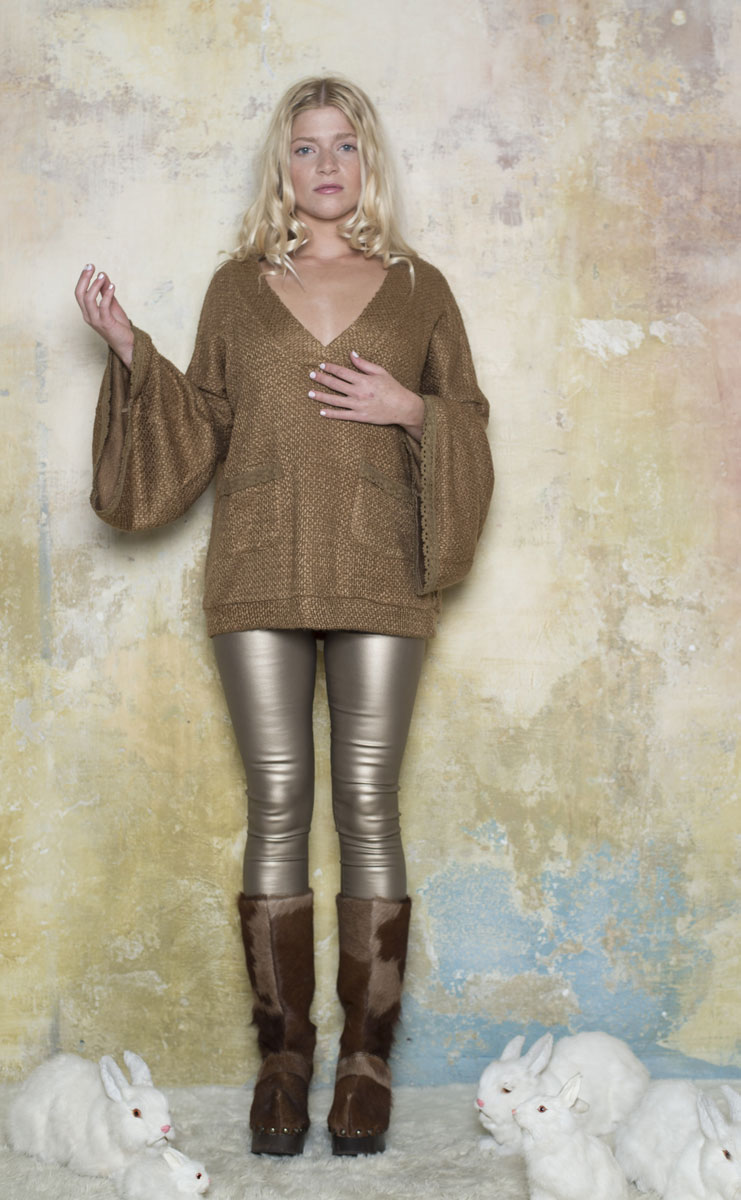 Pull Angora Brown - Collection Petite Laine