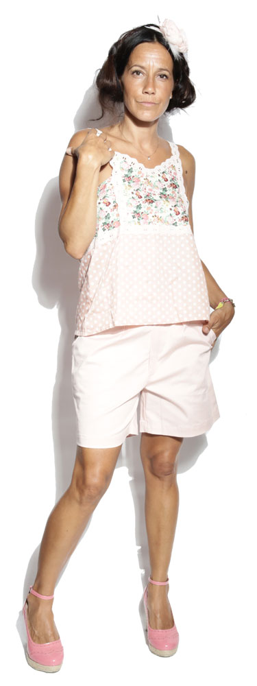 Short Austin Pink - Texane