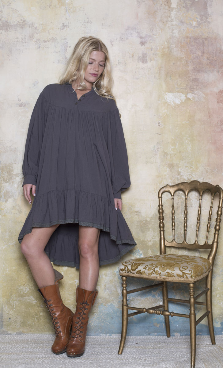 Robe Eloise Taupe - Collection Marie Louise