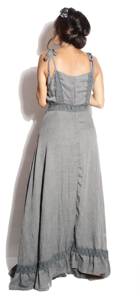 Robe longue Gypsy Anthracite - Boheme