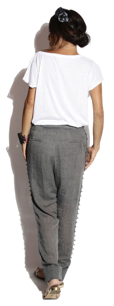 Pantalon Jim Anthracite - Boheme