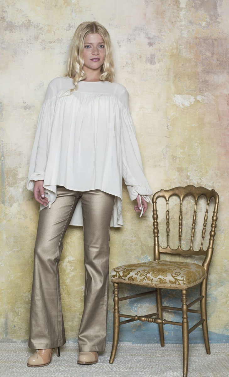 Blouse Juliette Cream - Collection Marie Louise