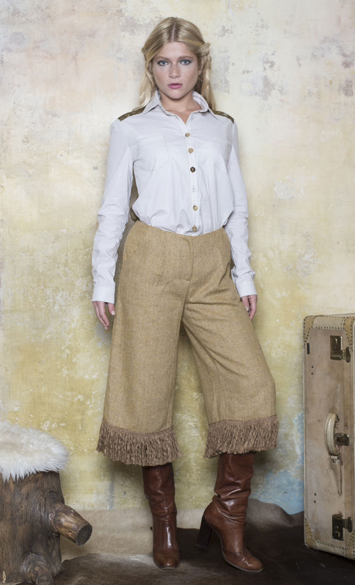 Jupe Culotte Ralph Brown - Collection Country