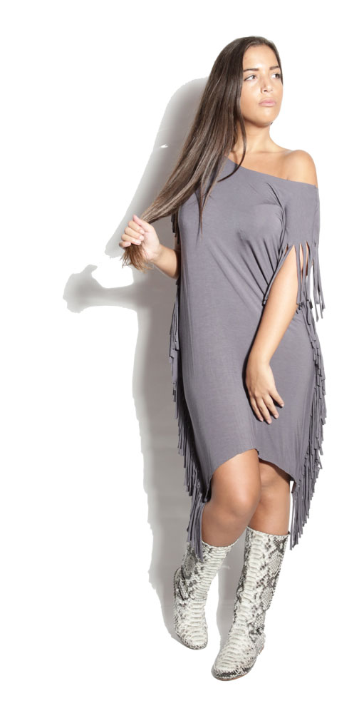 Robe Rebel Gris - Crazy Girl