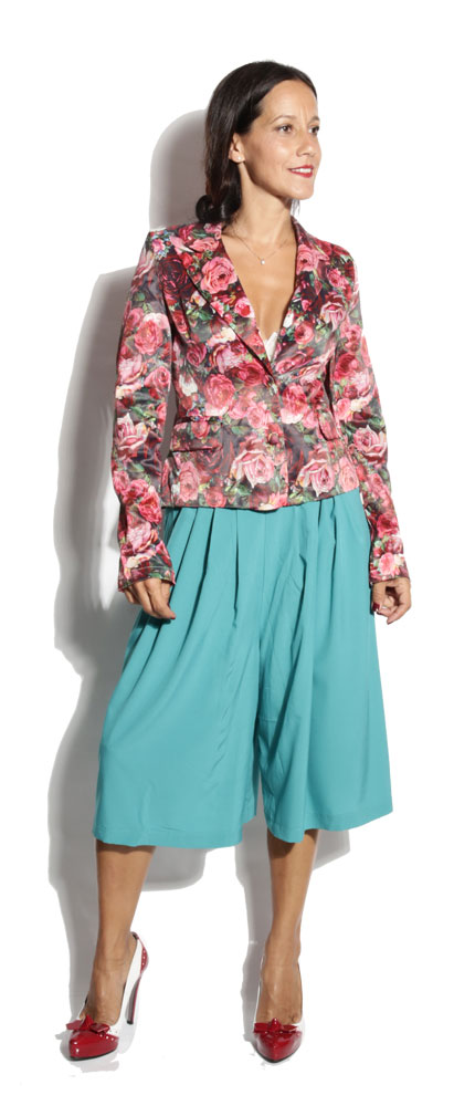 Veste Simone Rose Flower - Power Girl