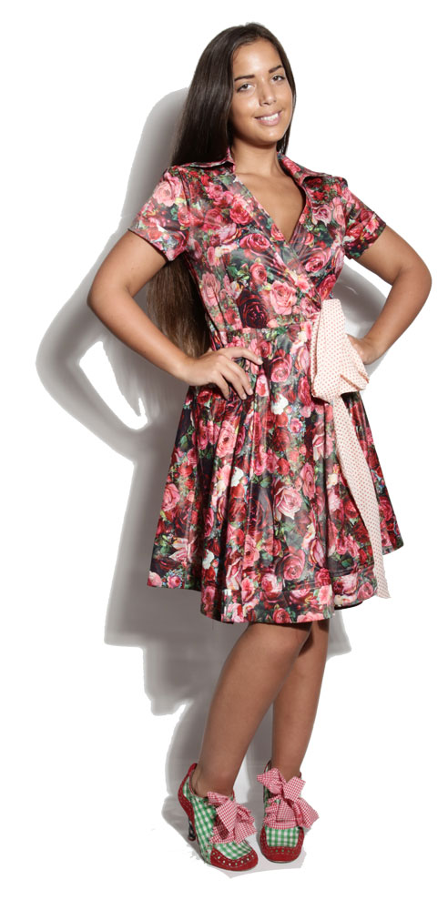 Robe Victoria Rose Flower - Power Girl