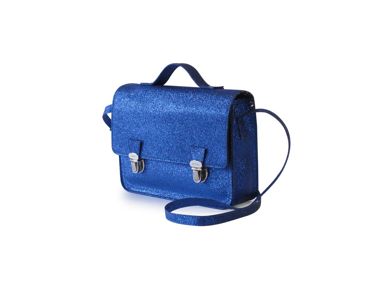b90a81a28ad7 Mini cartable bleu (XS) Glitter Blue • Miniséri • Sacs et accessoires   Sacs  à main, cabas, paniers... • Les Créateurs Marseillais
