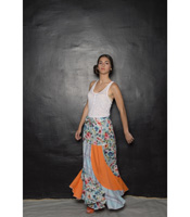 Robe Esperenza Azul - Collection Flamenco