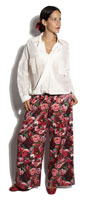 Pantalon Jeanne Rose Flower - Power Girl