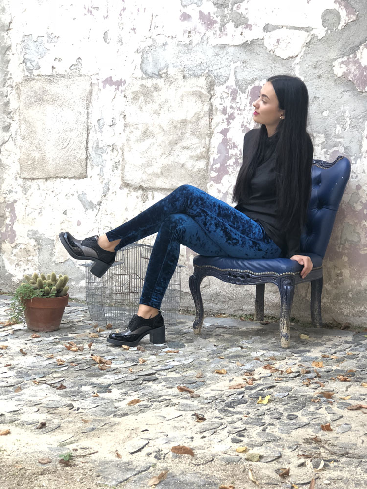 Legging Ana Navy - Collection Tulle