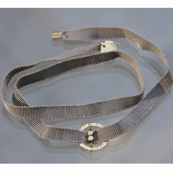 Bracelet Feel'in colors or carré-gris clair