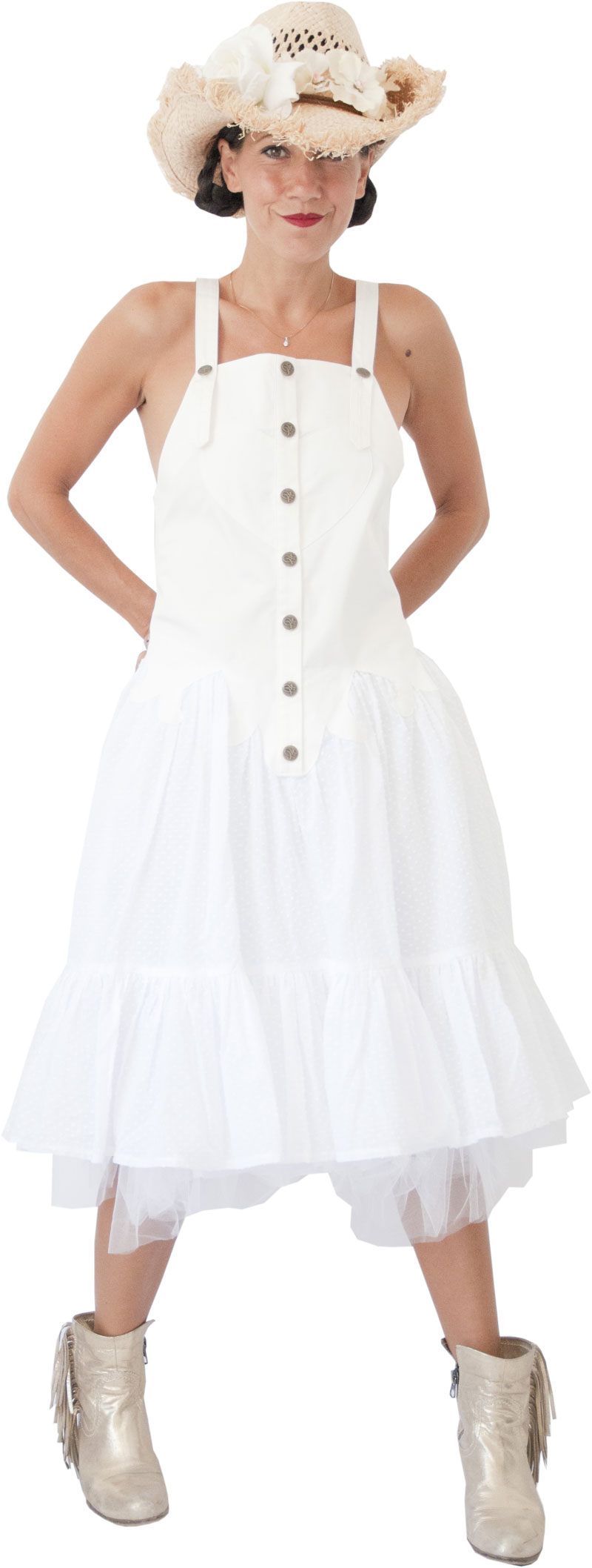 Robe Apache White Collection Lilisko