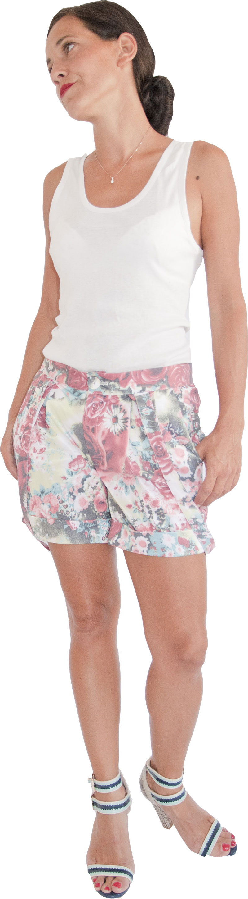 Short Joe Rose  Collection Jolie Madame