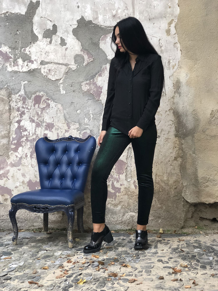 Legging Ana Green - Collection Tulle