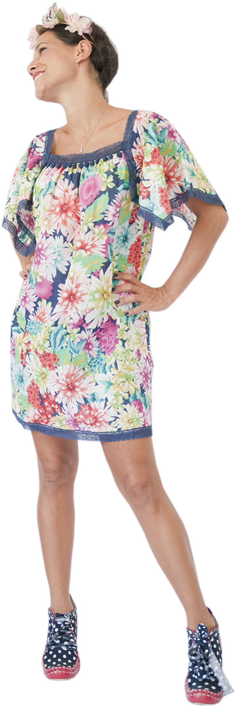 Robe Love Navy Collection Hippy Chic