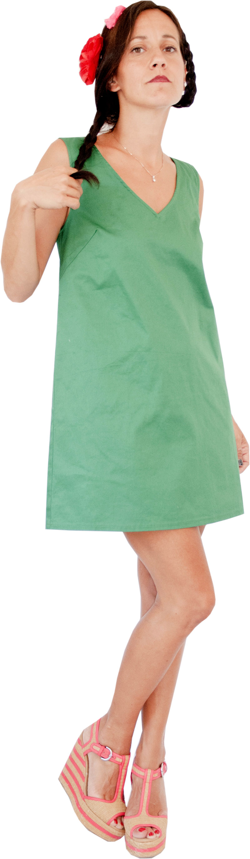 Robe Marisa Green Collection Lilisko
