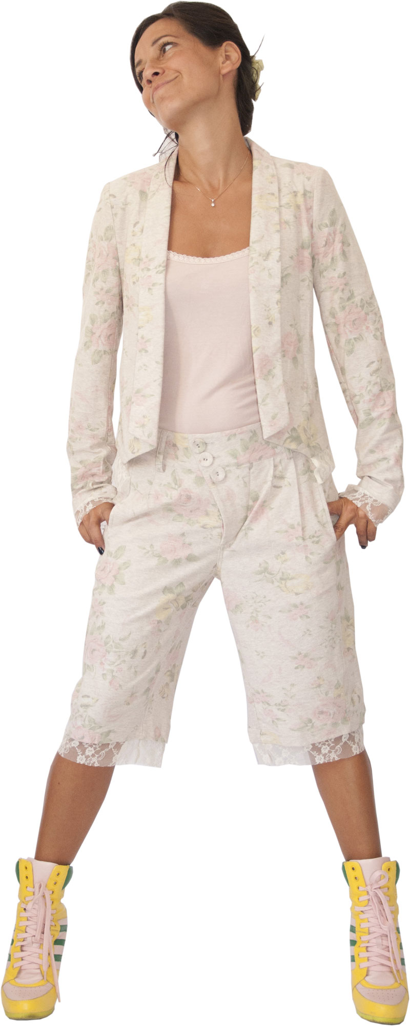 Veste Opéra Creme Collection Sweety