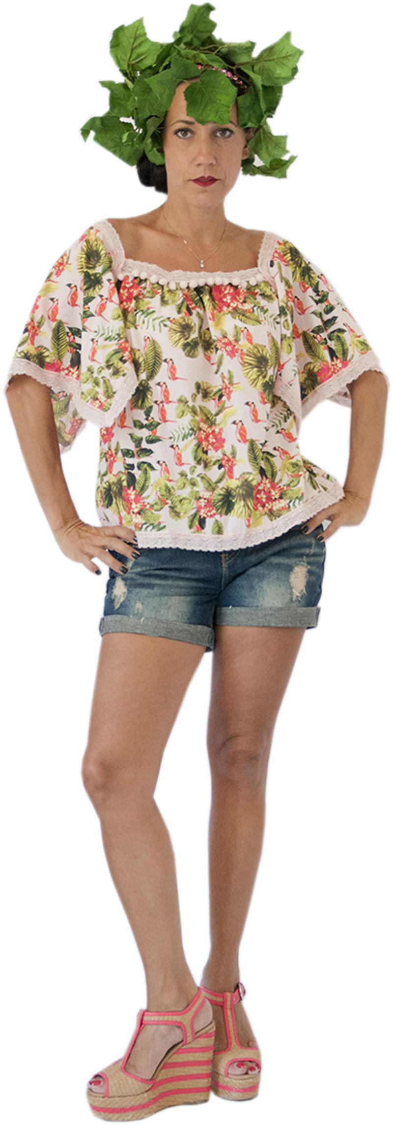 Top Peace Jungle Collection Hippy Chic