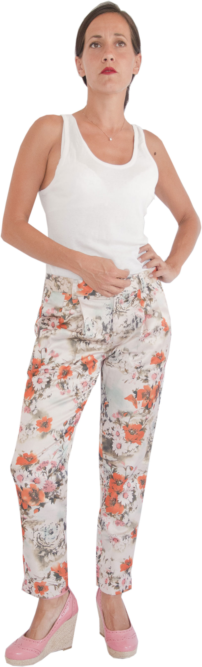 Pantalon Rita Coquelicot Collection Jolie Madame